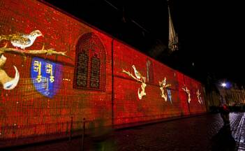 Beaune's trail of light - L'Hôtel-Dieu © Mairie de Beaune