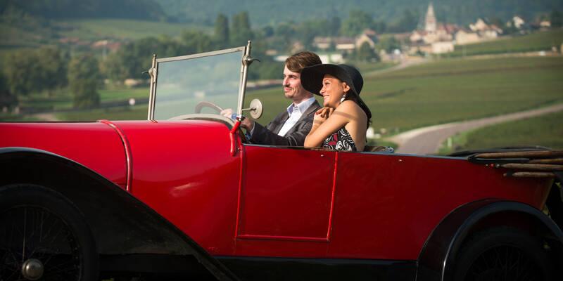Bugatti nos vilarejos-