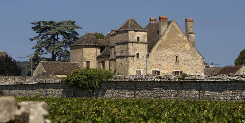 O Castelo de la Velle em Muersault