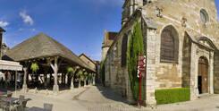 Place de la Halle à Nolay