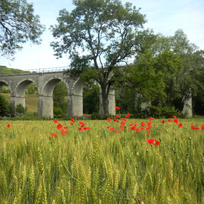 Viaduto de Nolay © Philippe Gateau
