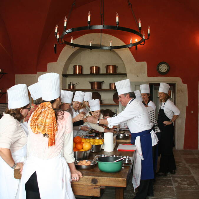 Cooking classes JLBarnabet Château d'Ancy le Franc