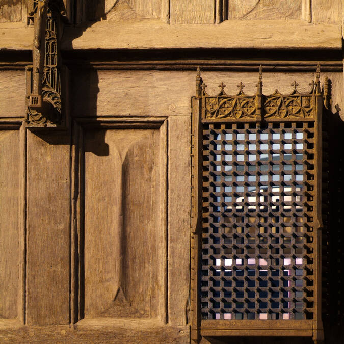 Porta de entrada e batente - Hospices de Beaune © Francis Vauban